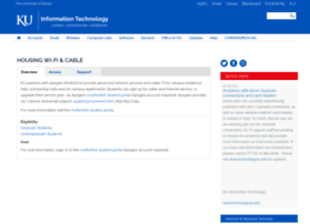 resnet.ku.edu