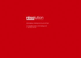resolution-informatique.net
