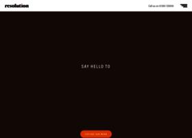 resolutiondesign.co.uk