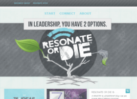 resonateordie.com