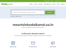 resortsinkodaikanal.co.in