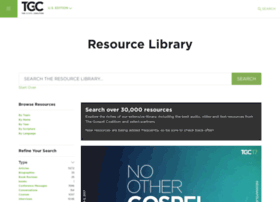 resources.thegospelcoalition.org
