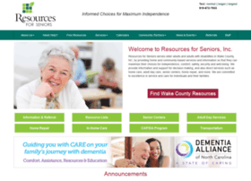 resourcesforseniors.com