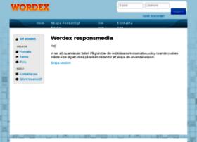 respons.wordex.se