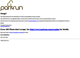 response.parkrun.com