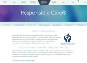 responsiblecare.americanchemistry.com