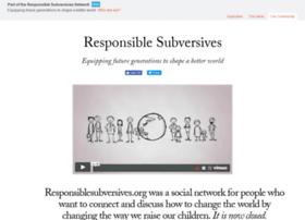 responsiblesubversives.org