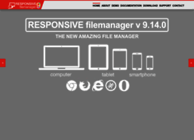 responsivefilemanager.com
