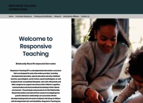 responsiveteaching.org