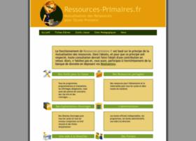 ressources-primaires.fr
