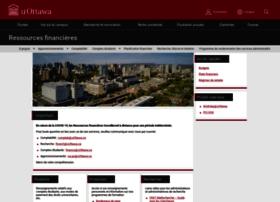 ressourcesfinancieres.uottawa.ca