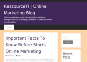 ressourceti.com