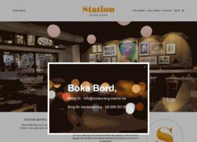 restaurang-station.se