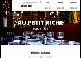 restaurant-aupetitriche.com
