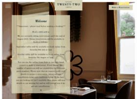restaurant22.co.uk