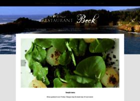 restaurantbeck.com