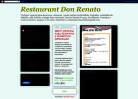 restaurantdonrenato.blogspot.com