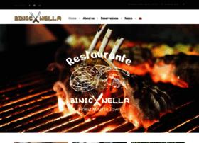 restaurante-binicanella.com
