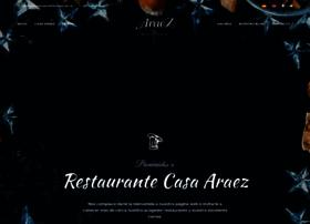 restaurantecasaaraez.es