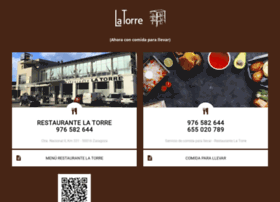 restaurantelatorre.es