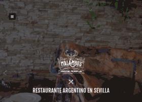 restaurantemalambos.es