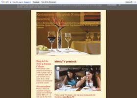 restauranteromania.blogspot.com