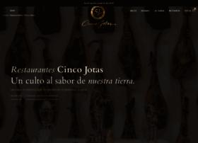 restaurantescincojotas.com