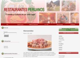 restaurantesperuanos.cl