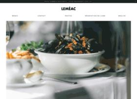 restaurantlemeac.com