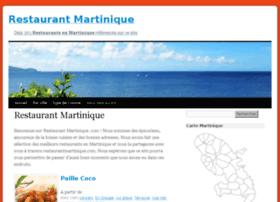 restaurantmartinique.com