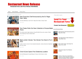 restaurantnewsrelease.com