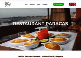 restaurantparacas.com