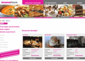 restaurantplaza.be