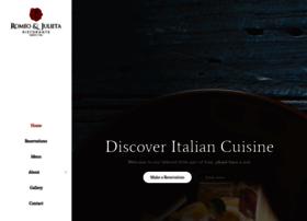 restaurantromeoyjulieta.com
