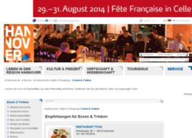 restaurants.hannover.de