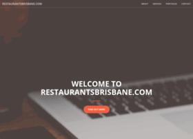 restaurantsbrisbane.com