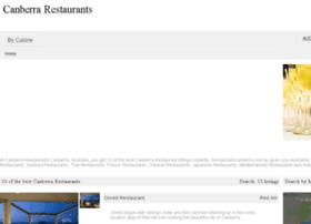 restaurantscanberra.com.au