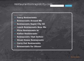 restaurantsinrapidcity.com