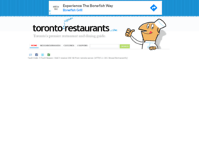 restaurantstoronto.com