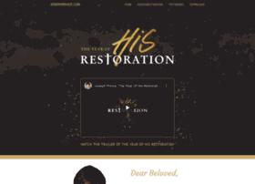 restoration.josephprince.com