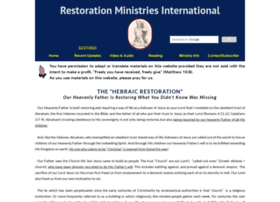 restorationministries.org