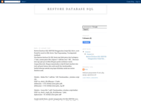 restore-database-sql.blogspot.com