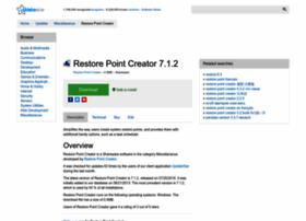 restore-point-creator.updatestar.com