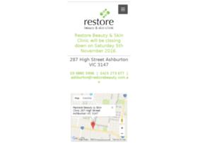 restorebeauty.com.au
