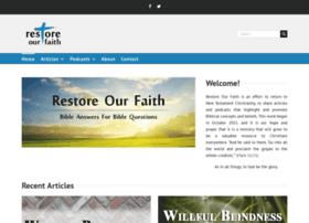 restoreourfaith.com