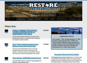 restorethetexascoast.org