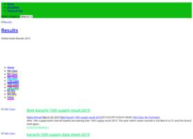 result.kingway.edu.pk