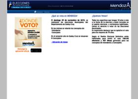 resultadosmunicipales2015.mendoza.gov.ar
