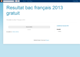 resultat-bac-2007-france.blogspot.com