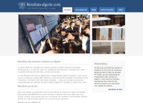 resultats-algerie.com